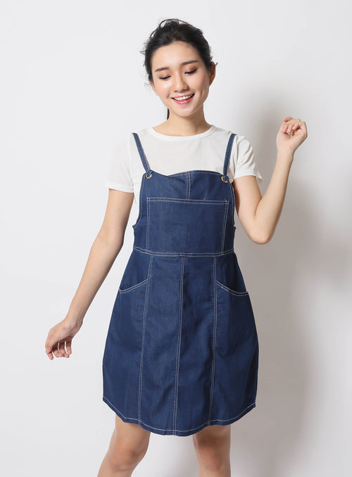 Ruby Overalls in Blue