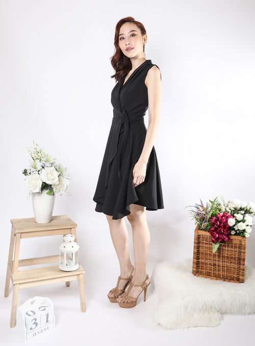 Sabrina Dress in Black
