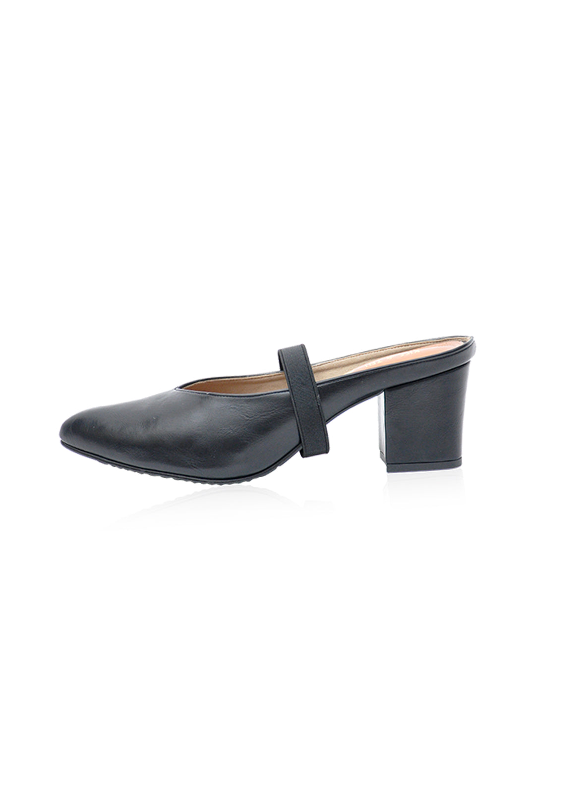 Saddie Mules in Black