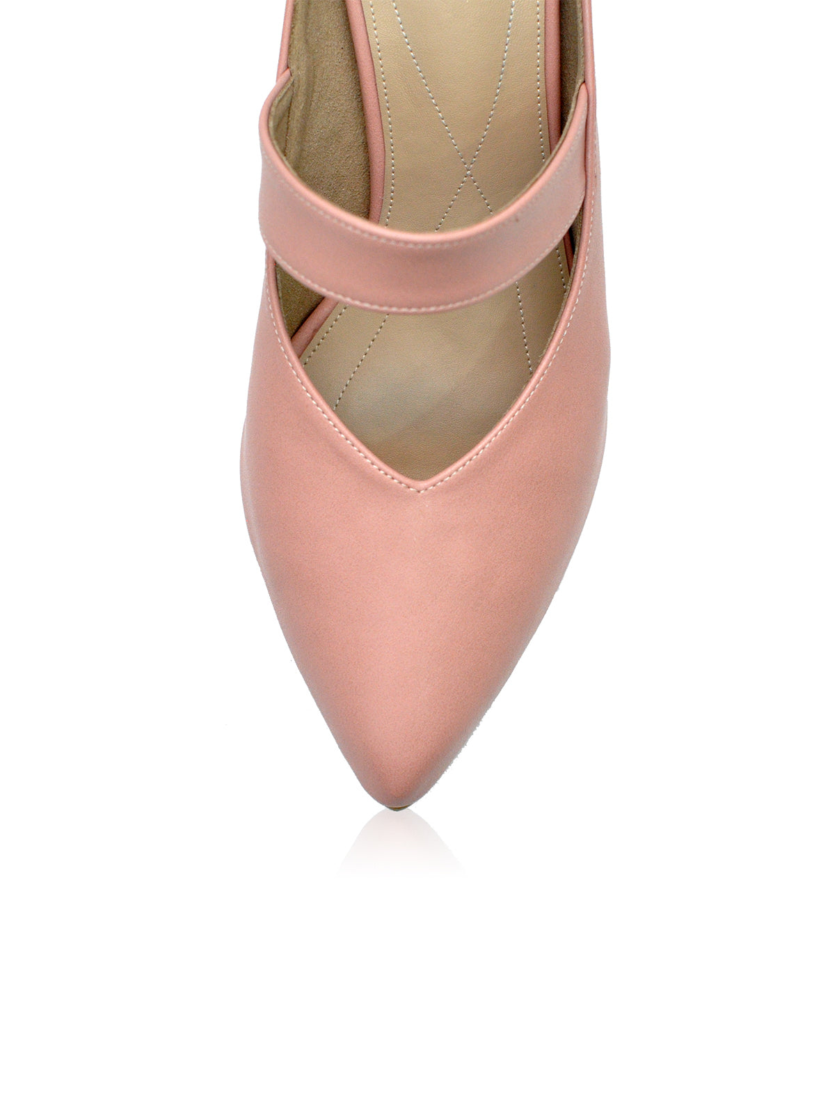 Saddie 2.0 Mules in Dusty Pink