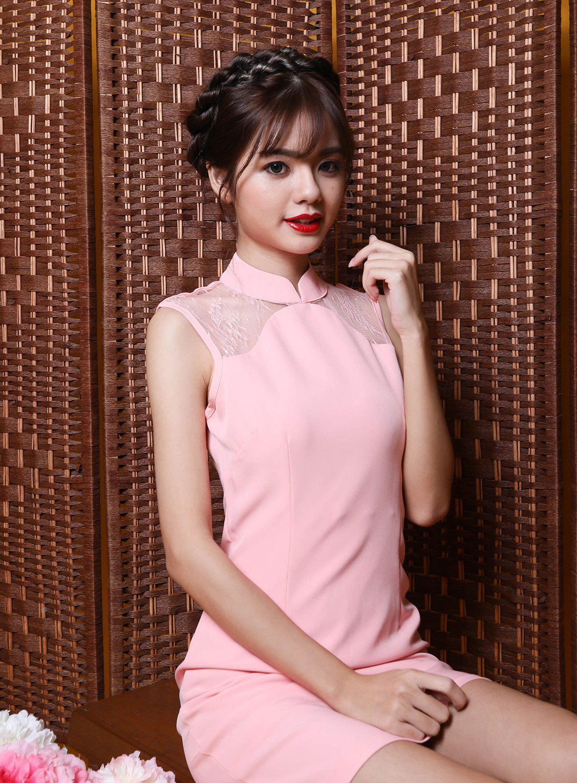 Tao Qi Pao in Pink