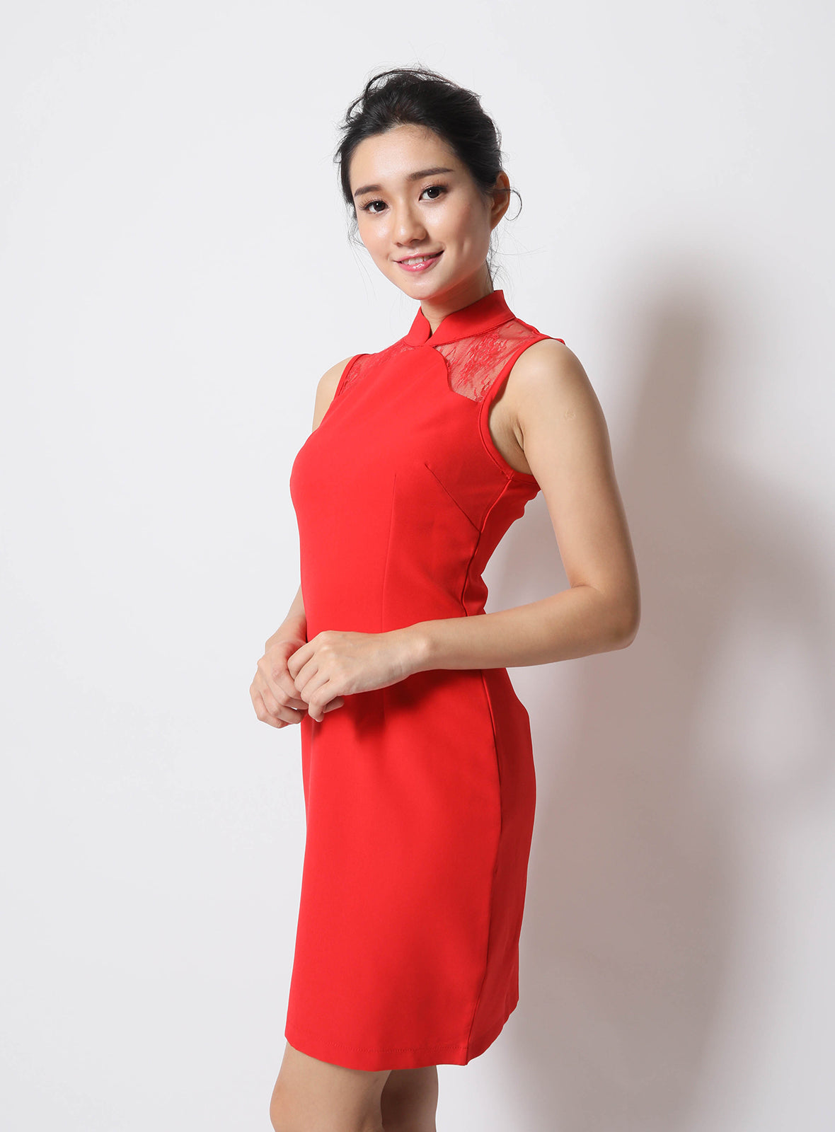 Tao Qi Pao in Red