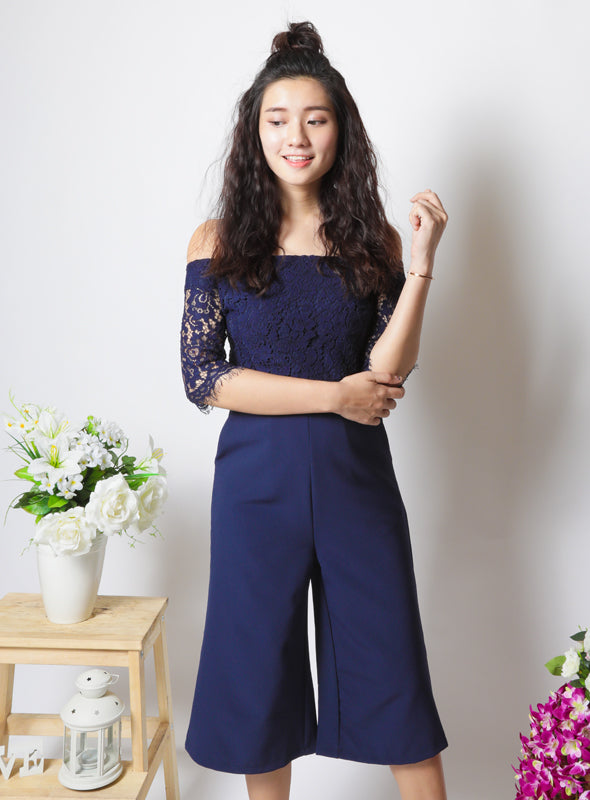 Tobi Jumpsuit in Navy