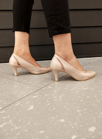 Misty Heels in Dusty Pink