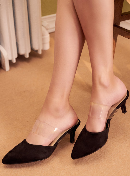 Vanessa Heels in Black