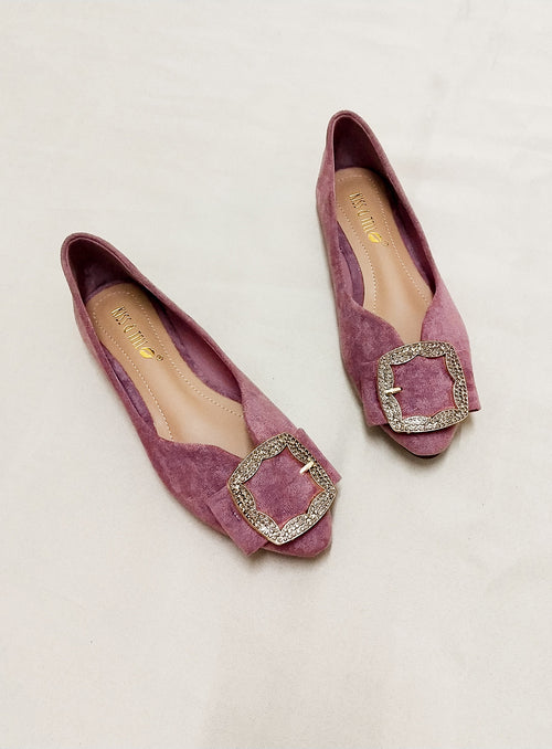 Violet Flat in Purple