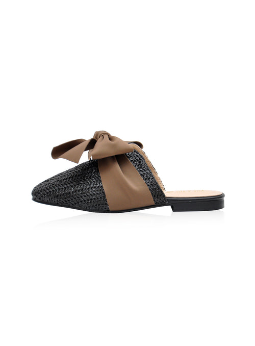 Willow Mules in Black