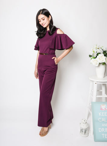 Gaze Dress in Wine