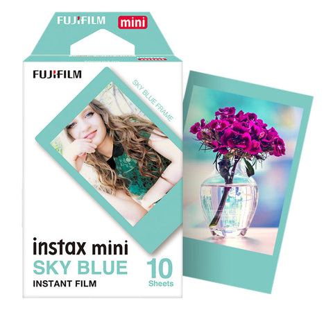 Fujifilm Instax Mini Film Sky Blue - Fotonerds