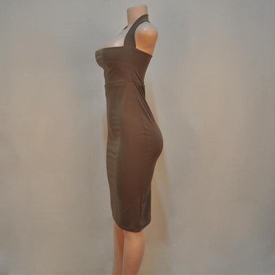 """Maggie"" Halter Bodycon Dress"