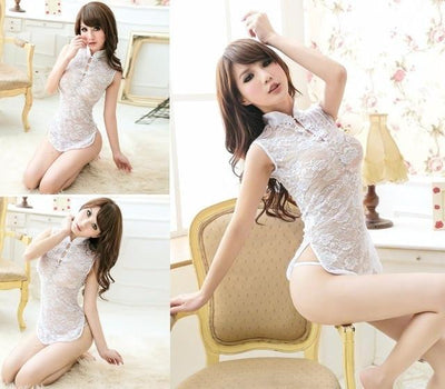 """Natalia""Japanese Teddies Babydoll Night Gown"