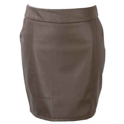Ariel -- Women's Vegan Leather Pencil Skirt