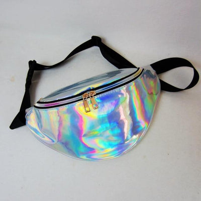 """Sadie"" New Holographic Laser Hip Bag"