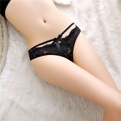 """Estelle"" Lace Thongs G-string Panties"