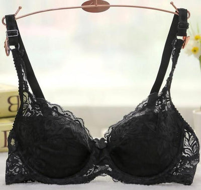 """Astrid"" Lace Underwire Push Up Bra"