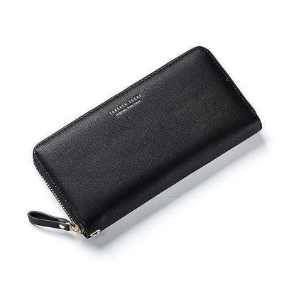 """Michelle"" Simple Long Clutch Wristband Wallet"