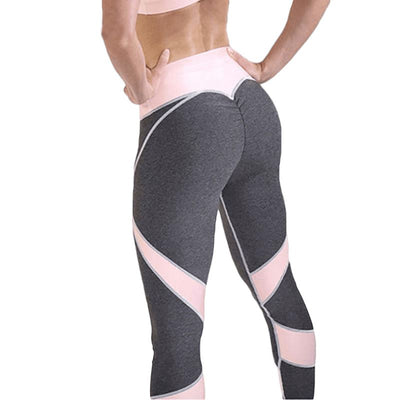 Pink Twister Fitness Leggings