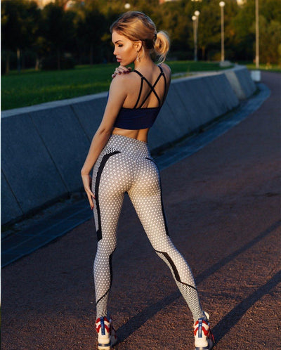Patched Queen Mid-Waist Leggings