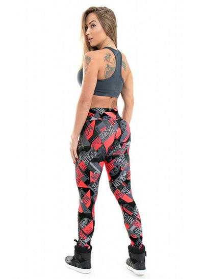 """Daphne"" Sexy Hollow Out Printed Women Leggings"