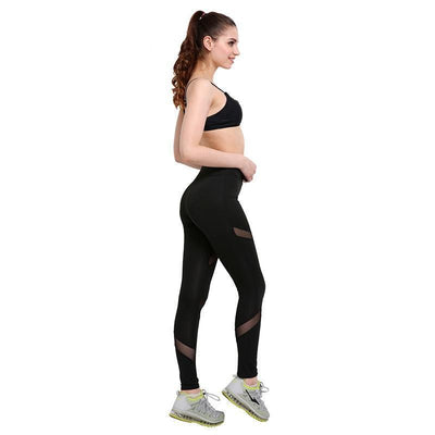 """Melody"" Sexy Women Mesh Fitness Leggings"