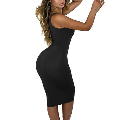 """Suzy"" Slim Empire Bodycon Dress"