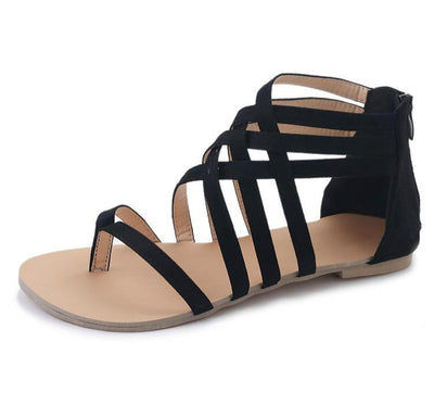 """Ces"" High Fashion Gladiator Flat Sandals"