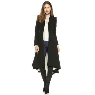 Aya -- Womens Slim Trench Coat