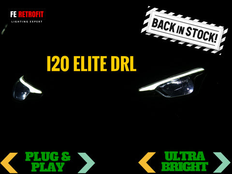 Hyundai I20 Elite DRL (Sequential Turn Signal)