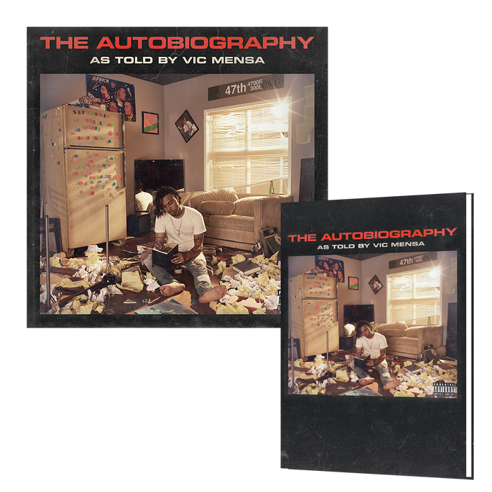 Vic Mensa The Autobiography Autographed Mini Book + CD