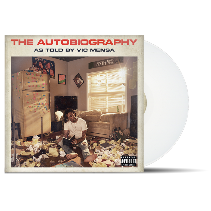 Vic Mensa The Autobiography 2LP White Vinyl