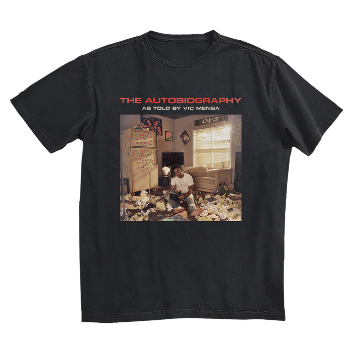 Vic Mensa The Autobiography Cover Tee Bundle