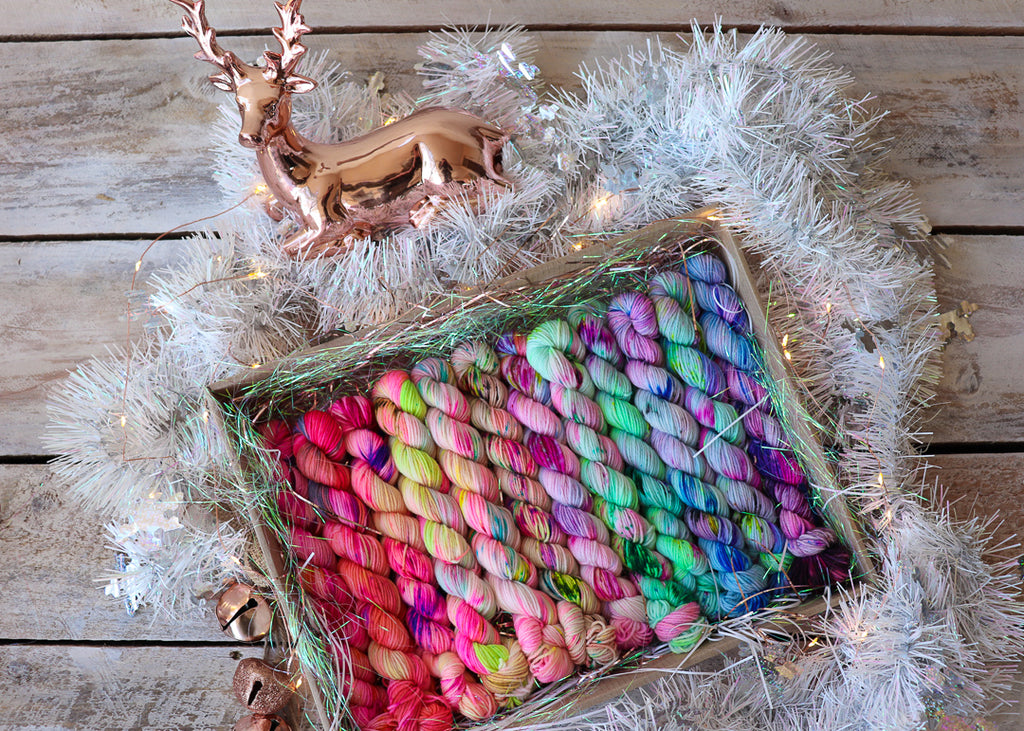 '12 Days of Yarn Goodness' Christmas Goodie Box - PRE-ORDER