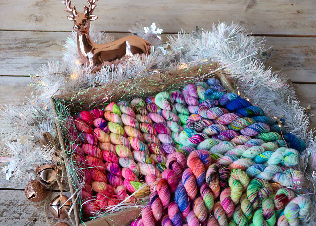 '24 Days of Yarn Goodness' Christmas Goodie Box - PRE-ORDER