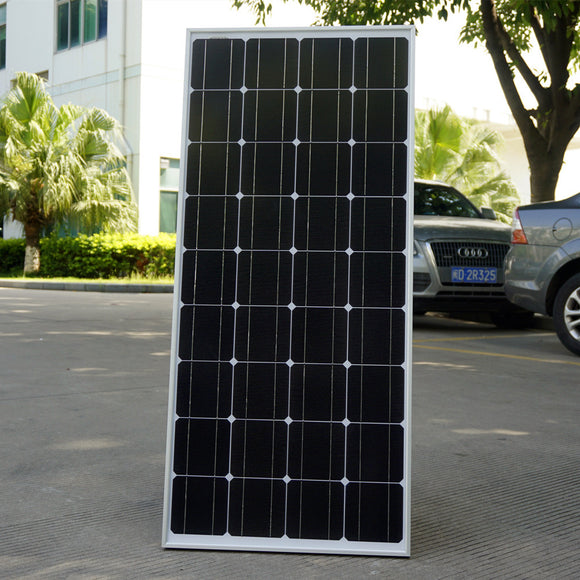 100W 12V Monocrystalline Solar Panel  for 12V Battery RV Boat , Car, Home Solar Power