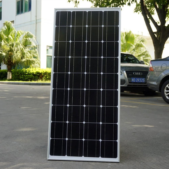 100W 12V Monocrystalline Solar Panel For Battery Rv Boat Car Home Power - $130.00