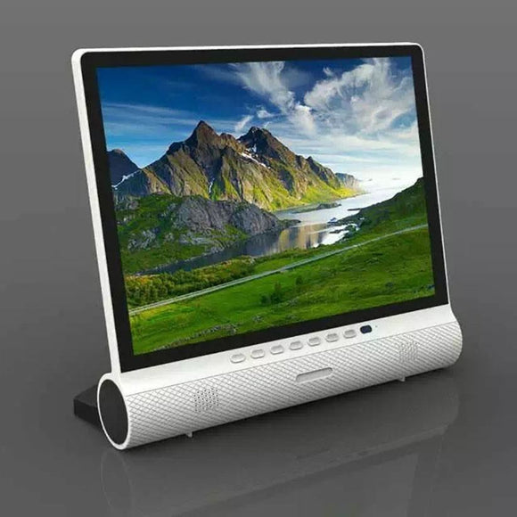 15 Inches Lcd Display Screen Computer Monitor Bluetooth Usb To Sd Slot Vga Hdmi Av Dc Input - $216.00