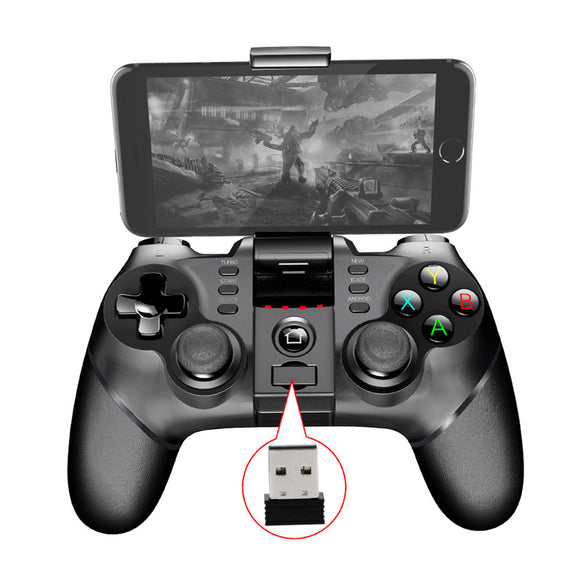 2018 New PG9076 Batman Gaming Gamepad Bluetooth Wireless Controller Gamepad Joystick For iphone Android Phone Win XP Tablet PC