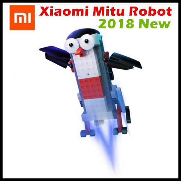 2018 New Xiaomi Mitu Robot Smart Building Block 305 Bricks Bluetooth Mobile Remote Phone App Control For Home - $53.00