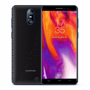 2018 Original Homtom S12 5.0 18:9 Display Mobile Phone Mtk6580 Quad Core Android 6.0 1G Ram 8G Rom 2750Mah 8.0Mp 3G Smartphone - $65.00