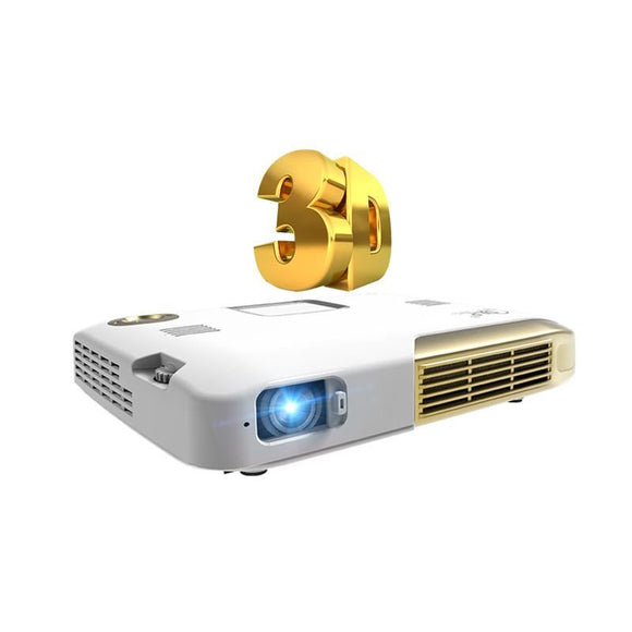 3D Mini Dlp Portable Projetor Android Tv Led Hd 1080P Smart Proyector Home Theater Cinema 2D To Beamer Video Phone Projector - $545.00