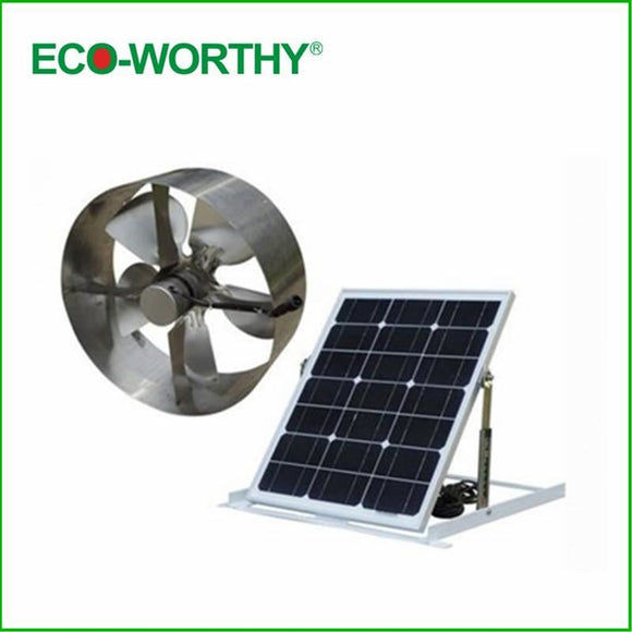 Free Shipping 25W Soalr Fan Solar Vent Attic Gable Roof Ventilator Ventilation 29W Monocrystalline Solsr Panel - $286.00