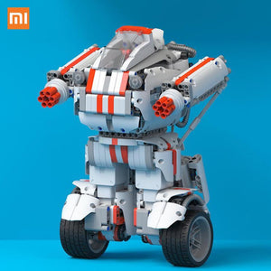 Best Gift Xiaomi Robot Building Block Bluetooth Mobile Remote Control 978 Spare Parts Self-Balance System Module Program - $140.00