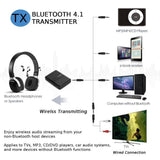 New Bluetooth Stereo Transmitter And Receiver 2In1 Audio Music V4.1 3.5Mm Aux Dongle Adapter For Ipod Dvd Tv Pc Car Home - $32.00