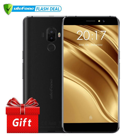 Ulefone S8 Pro Mobile Phone 5.3 Inch Hd Mtk6737 Quad Core Android 7.0 2Gb+16Gb Fingerprint 4G Smartphone - $94.00