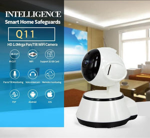 Wireless Wifi 360 Camera/monitor With Cellphone Remote Control Network High Definition Surveillance Ip Camera For Ios Android - $205.00