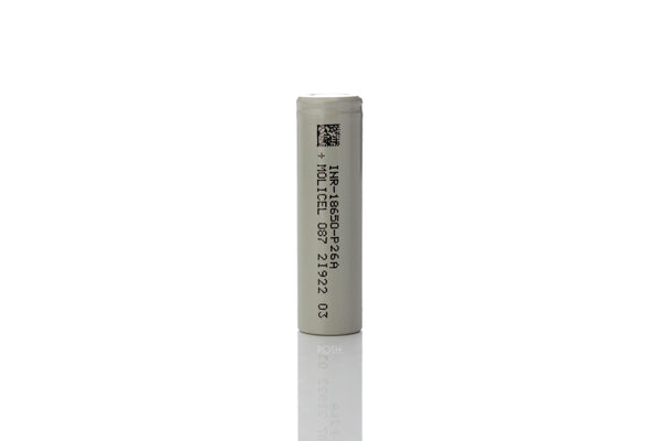 Molicel | NPE INR-18650-P26A 35A 2600MAH Flat Top 18650 Battery