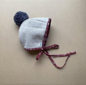 Winter Pom Bonnet