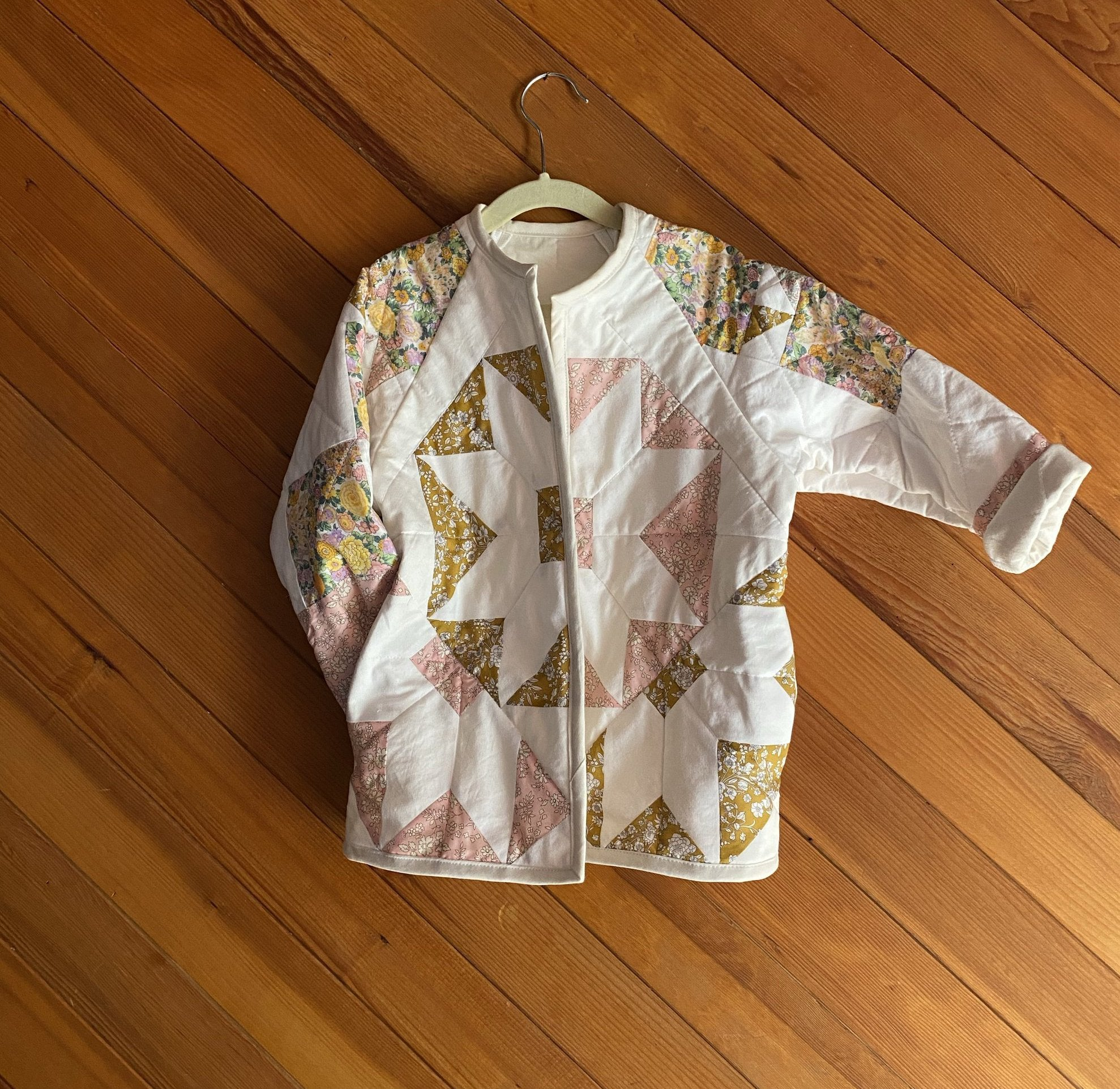 #12 Quilted Parity Jacket size 5/6
