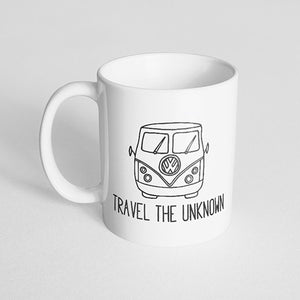 """Travel the unknown"" Mug"