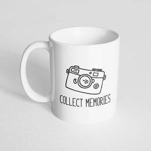 """Collect memories"" Mug"